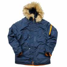Куртка Nord Denali Husky Short, Rep. Blue/Orange, новая