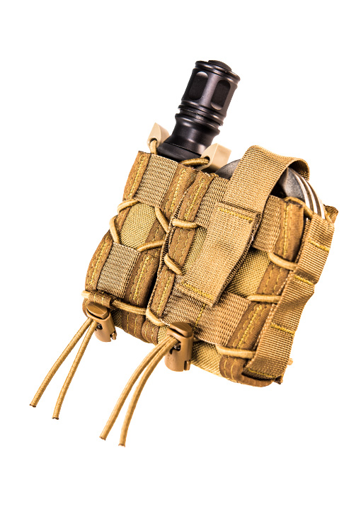 Комбинированный MOLLE-подсумок Leo Taco High Speed Gear, цвет - Multicam