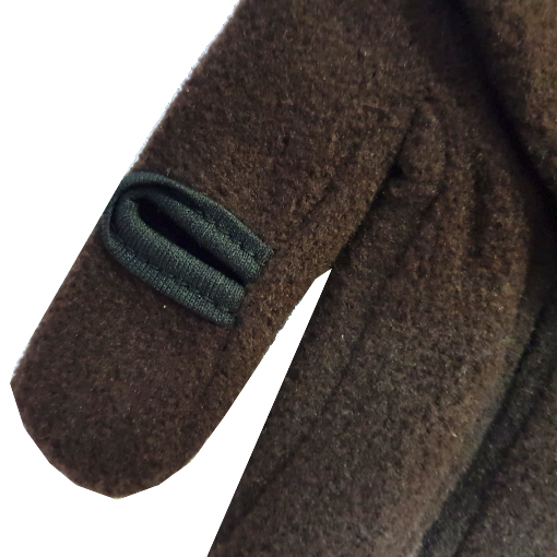 Перчатки NordKapp fleece JAHTI brown 848B